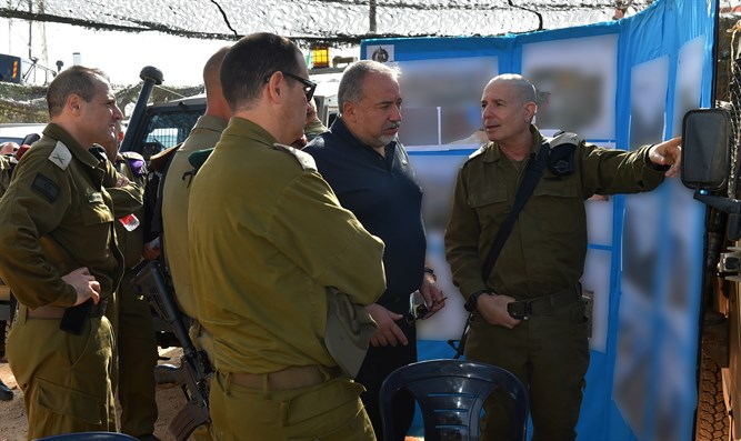 Liberman in north