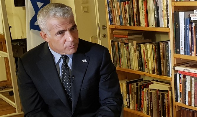 MK Lapid speaks to Arutz Sheva