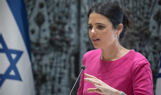 Shaked returns fire