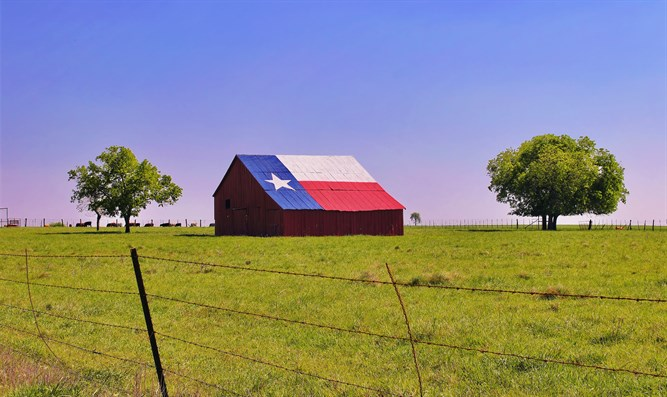 Barn in Texas
