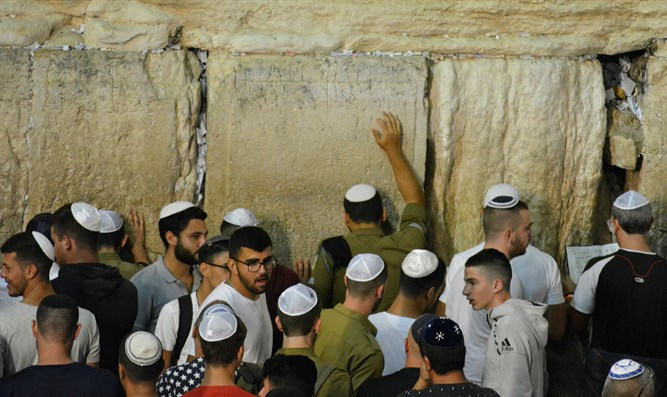 Jews at the Kotel