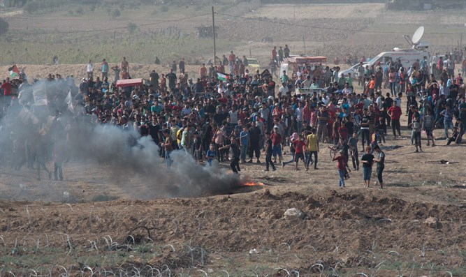 Riots at the Gaza border