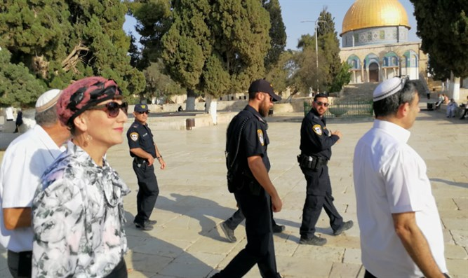 MK Shuli Mualem on Temple Mount; this morning