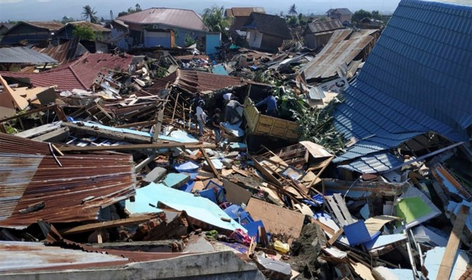 Devastation after Indonesia's double disaster