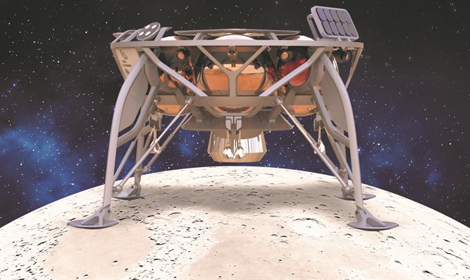 Soon on the moon. The Israeli spacecraft