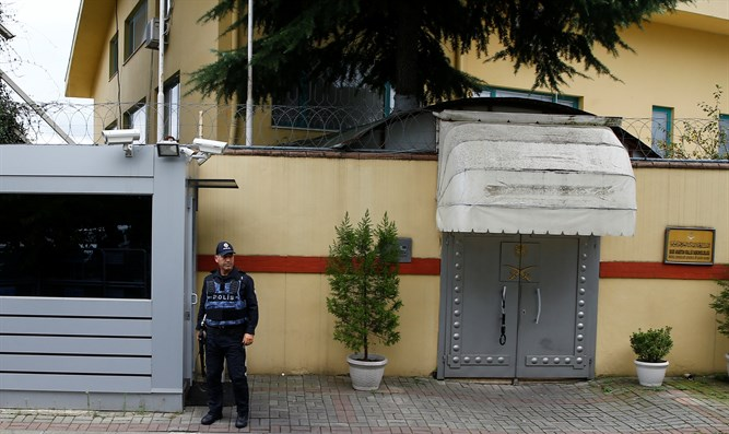 The Saudi consulate in Turkey where the journalist disappeared
