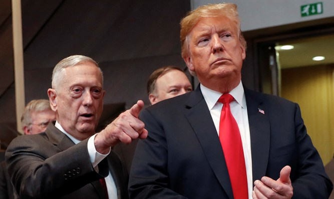 Defense Secretary Jim Mattis and President Donald Trump