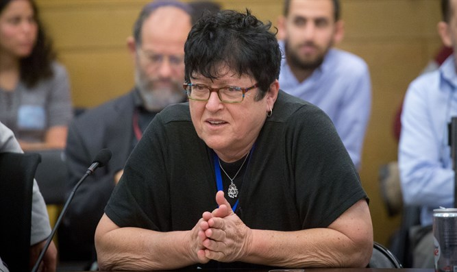 South Tel Aviv resident and activist Sheffi Paz