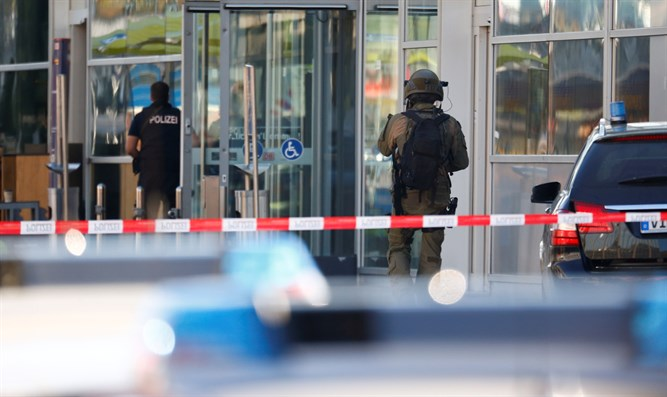 Scene of Cologne hostage taking incident