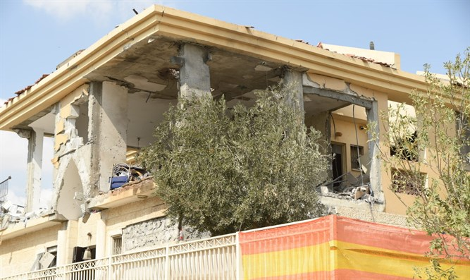 Rocket hits Be'er Sheva home