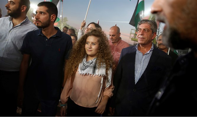 Tamimi released from prison