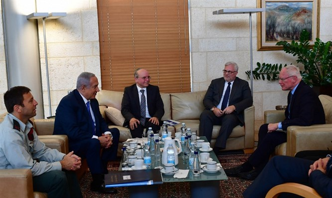 PM Netanyahu meets James Jeffrey