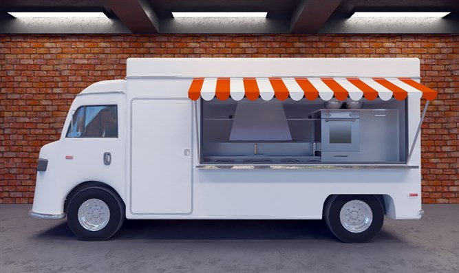 Food truck (stock image)