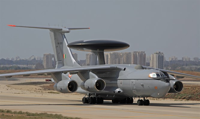 IL-76 Airborne Warning and Control System