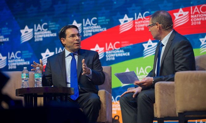 Ambassador Danny Danon at the IAC Conference