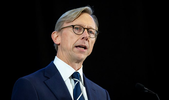 US special envoy for Iran Brian Hook
