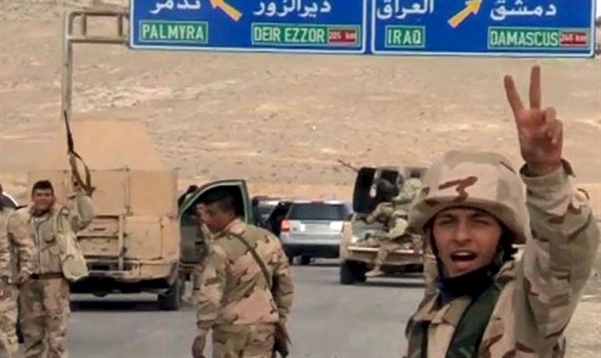 Forces loyal to Syria's President Assad advance to Palmyra