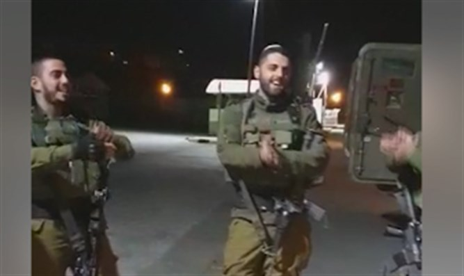 Troops from Netzach Yehuda