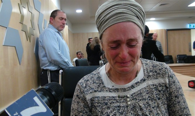mother of Ofra attack victim