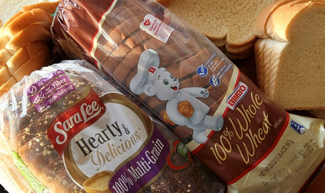 Sara Lee and Bimbo bread products