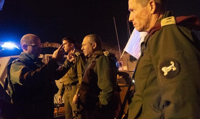 Chief of Staff visits scene of Givat Assaf attack