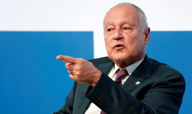 Arab League Secretary-General Ahmed Aboul-Gheit