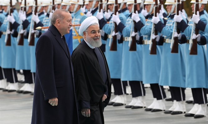 Rouhani and Erdogan in Ankara