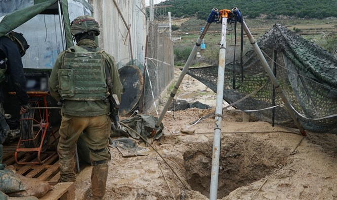 IDF unit working to neutralize tunnel on Israeli-Lebanese border