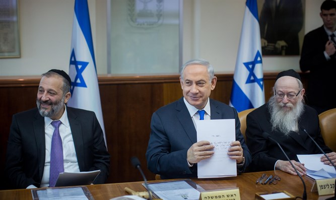 Netanyahu, Deri and Litzman