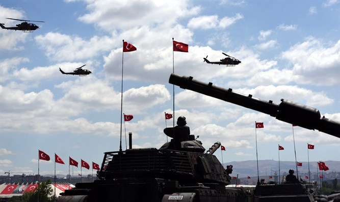 Tanks and Helicopters - Turkish military
