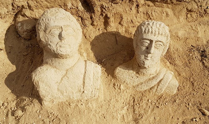The busts that were discovered