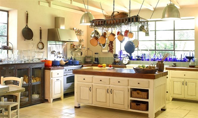 A Rustic Kitchen With A Modern Touch Israel National News
