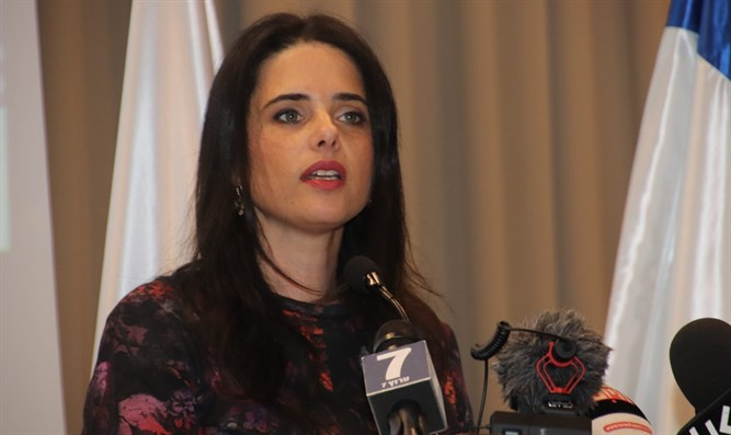 Tel Aviv activist wants Shaked to continue as Justice Minister