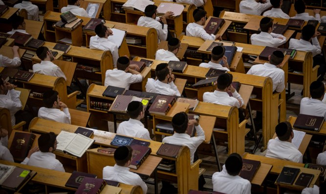 Yeshiva students (stock)