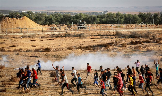 Hamas riots along Gaza border