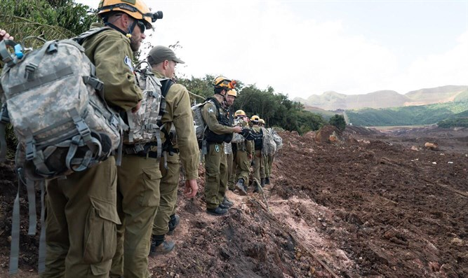 IDF forces in Brazil