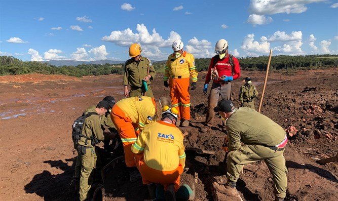 ZAKA emergency team in Brazil