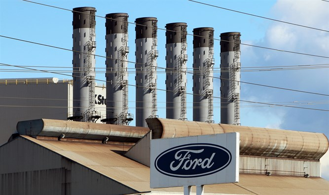 Ford factory in Dearborn