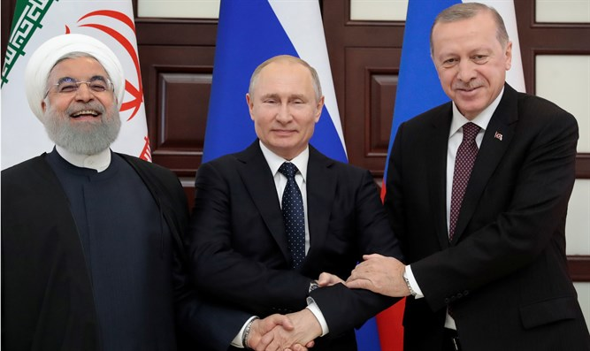 Rouhani, Putin and Erdogan