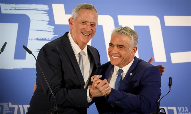 Gantz and Lapid