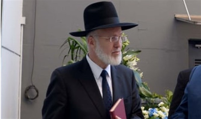 Argentina's Chief Rabbi Gavriel Davidovitch