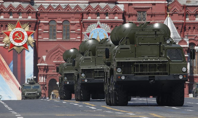 Russian S-400 Triumph medium-range and long-range surface-to-air missile systems