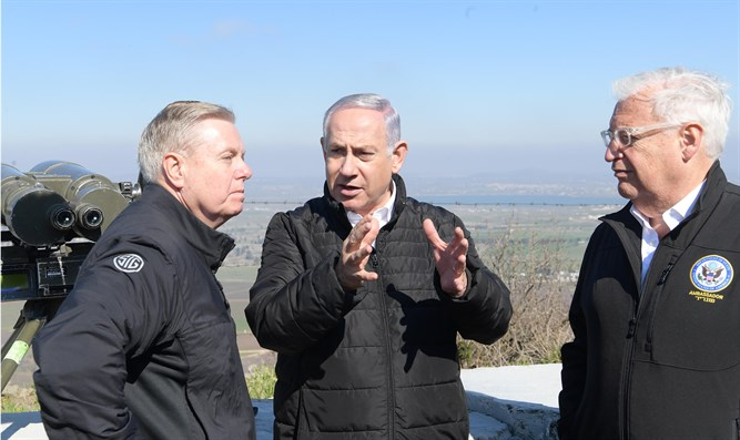 Graham, Netanyahu, Friedman