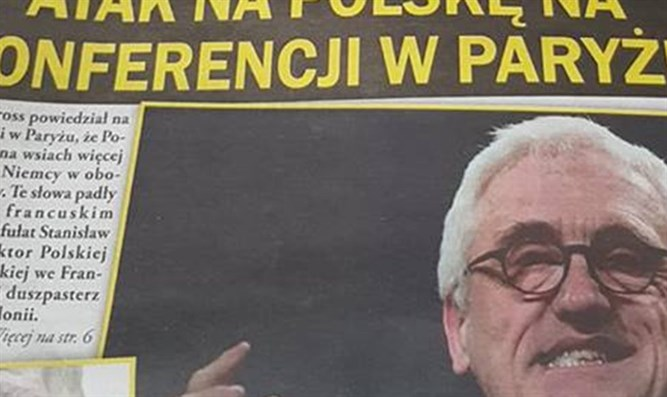 Only Poland newspaper with offensive front page article