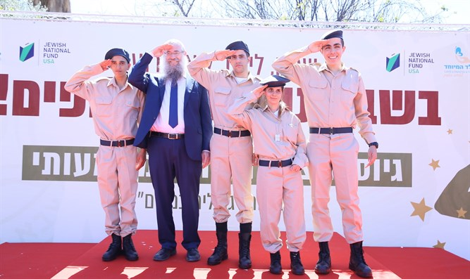 Special soldiers join the IDF