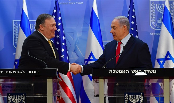 Pompeo: US commitment to Israel's security is unwavering