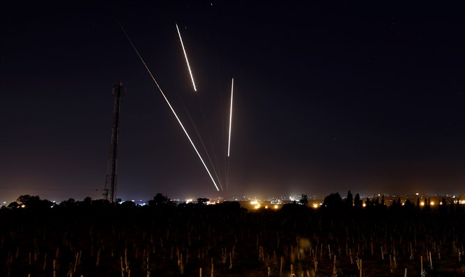 Rockets launched from Gaza into Israel