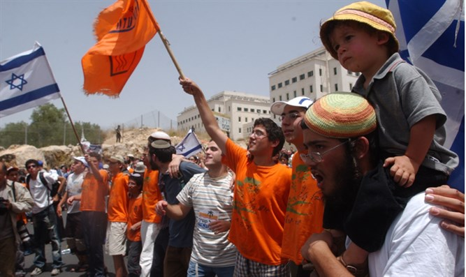 Back to the days that preceded the expulsion from Gush Katif