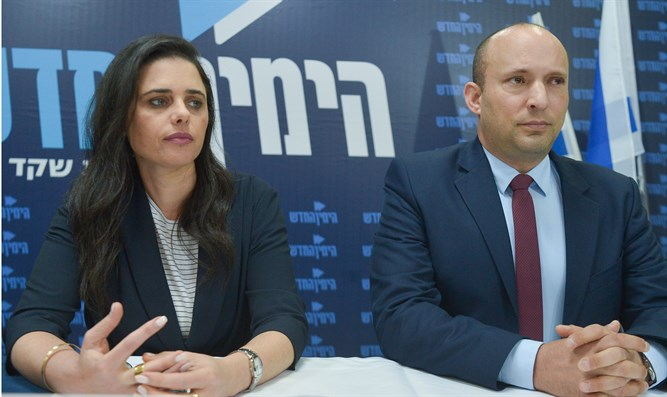 Party doesn't completely express path of religious Zionism. Shaked and Bennett