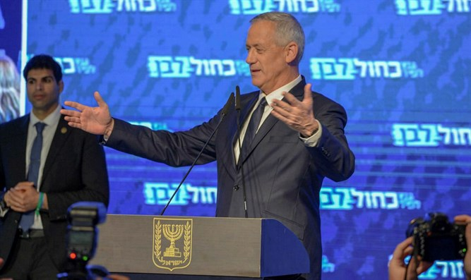 Benny Gantz after Tuesday's election